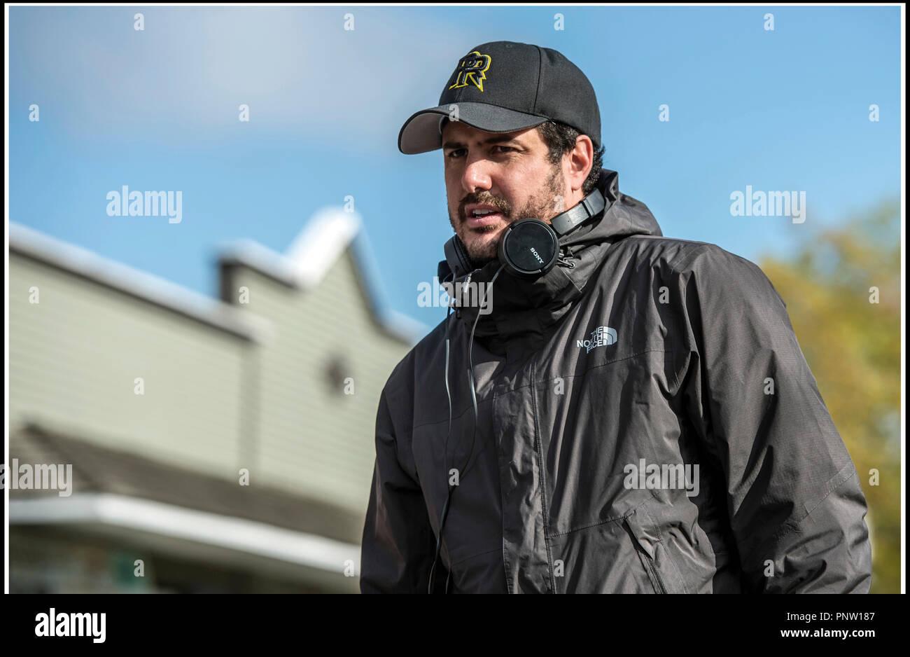 Prod DB © Lionsgate - Saban Brands -Saban Entertainment / DR POWER RANGERS de Dean Israelite 2017 USA avec Dean Israelite sur le tournage Stock Photo