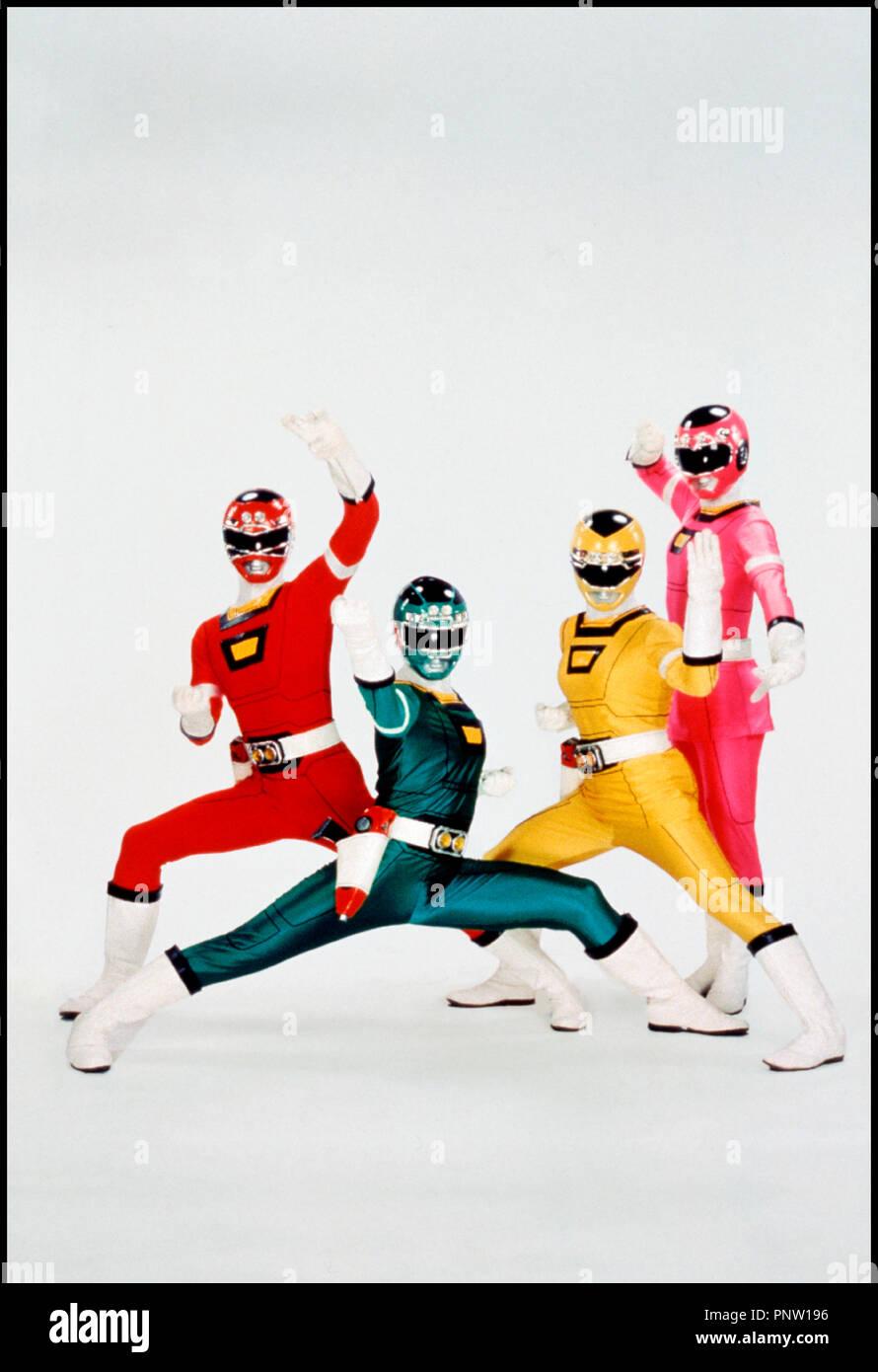 Power Rangers Turbo Stock Photos & Power Rangers Turbo Stock Images