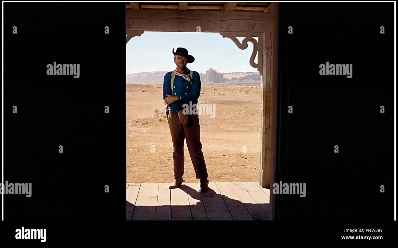 Prod DB © Warner Bros / DR LA PRISONNIERE DU DESERT (THE SEARCHERS) de John Ford 1956 USA avec John Wayne western - Stock Image