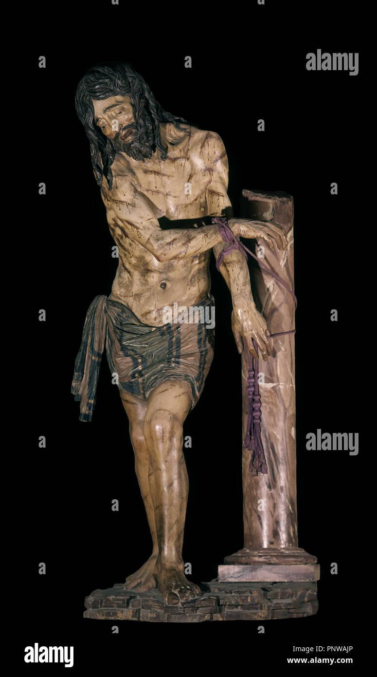 Cristo Atado A La Columna En La Capilla Del Corpus Christi