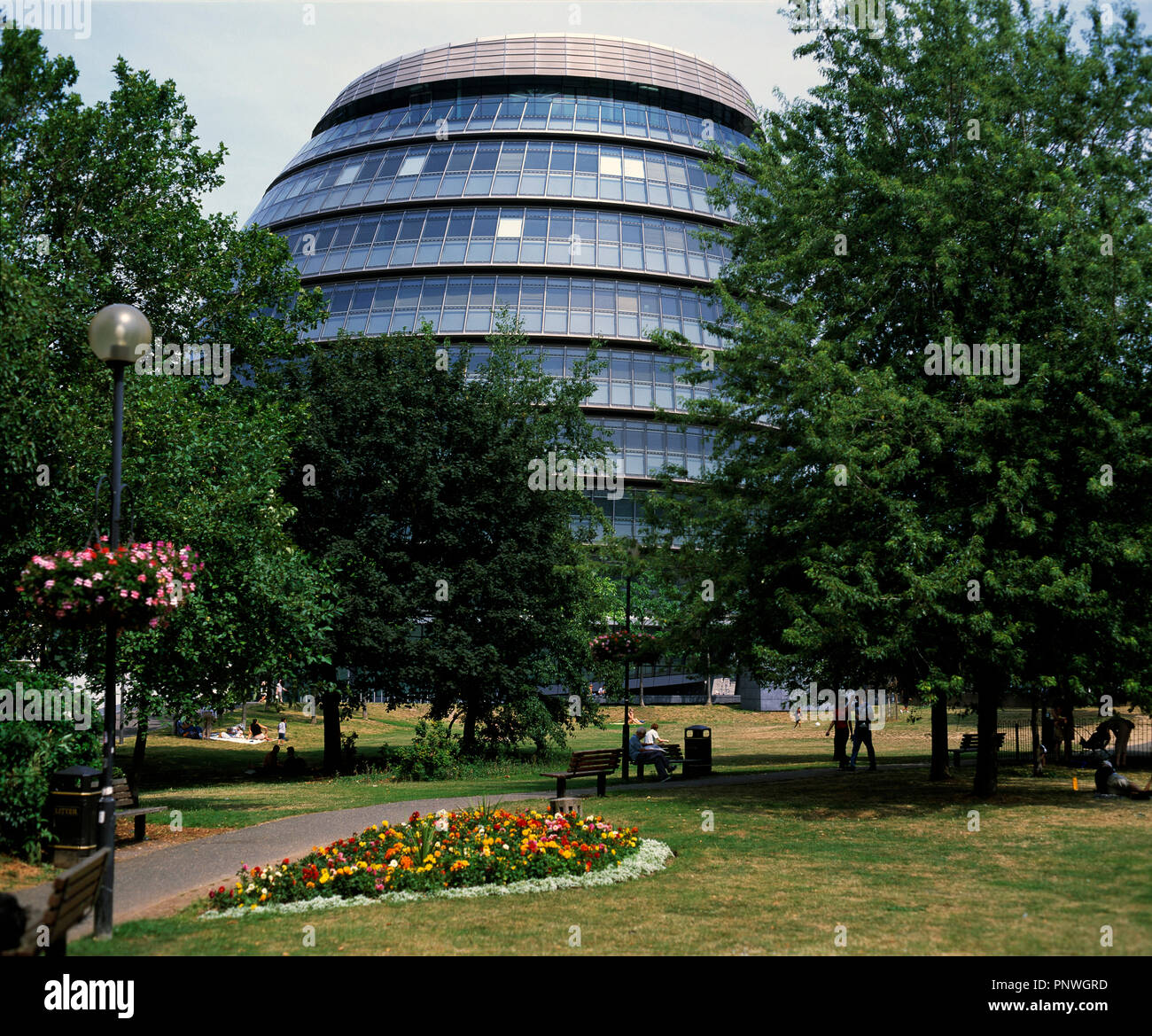 United Kingdom. England. London. Southwark. City Hall. - Stock Image