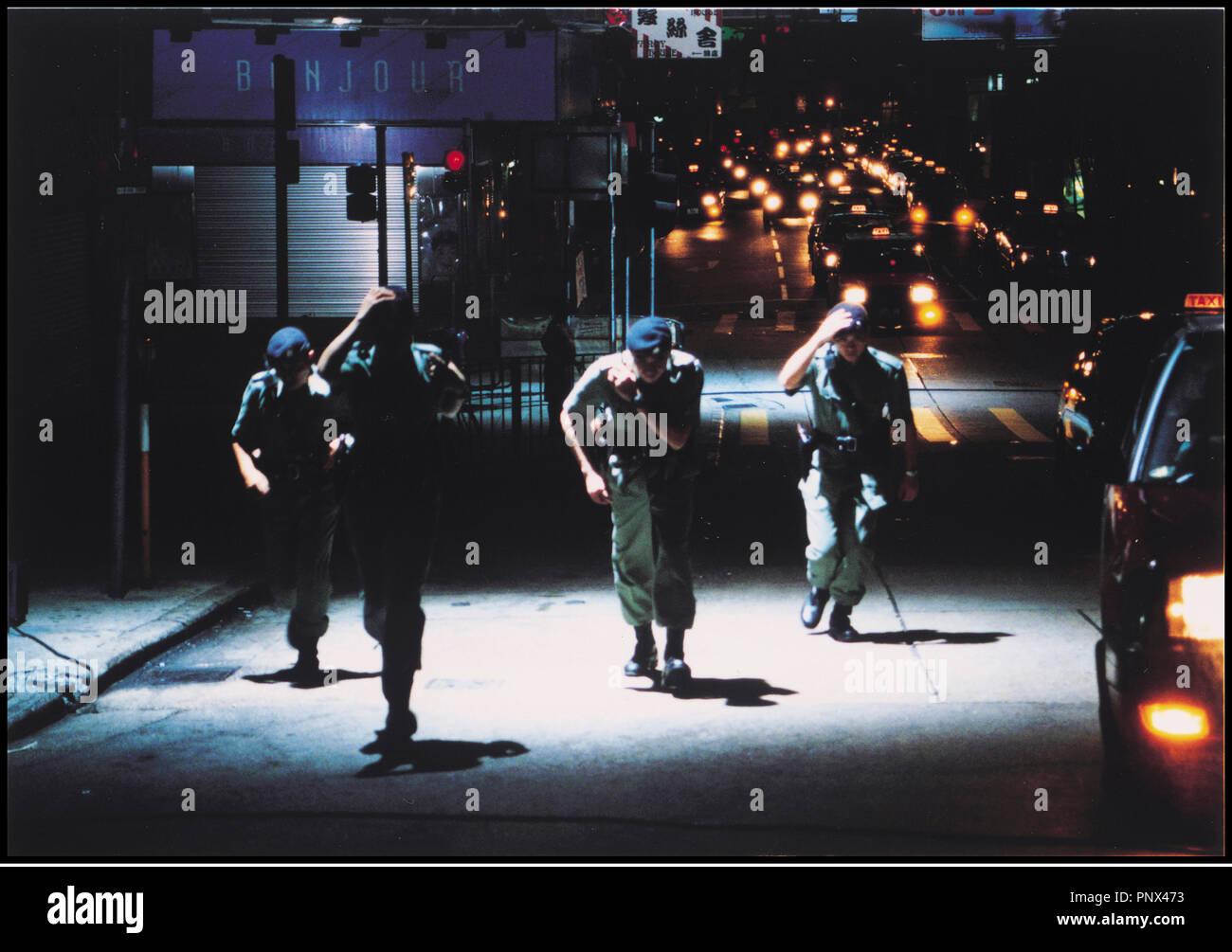 Prod DB © Milky Way / DR PTU (PTU) de Johnny To 2003 HK commando, forces d'elite, Stock Photo