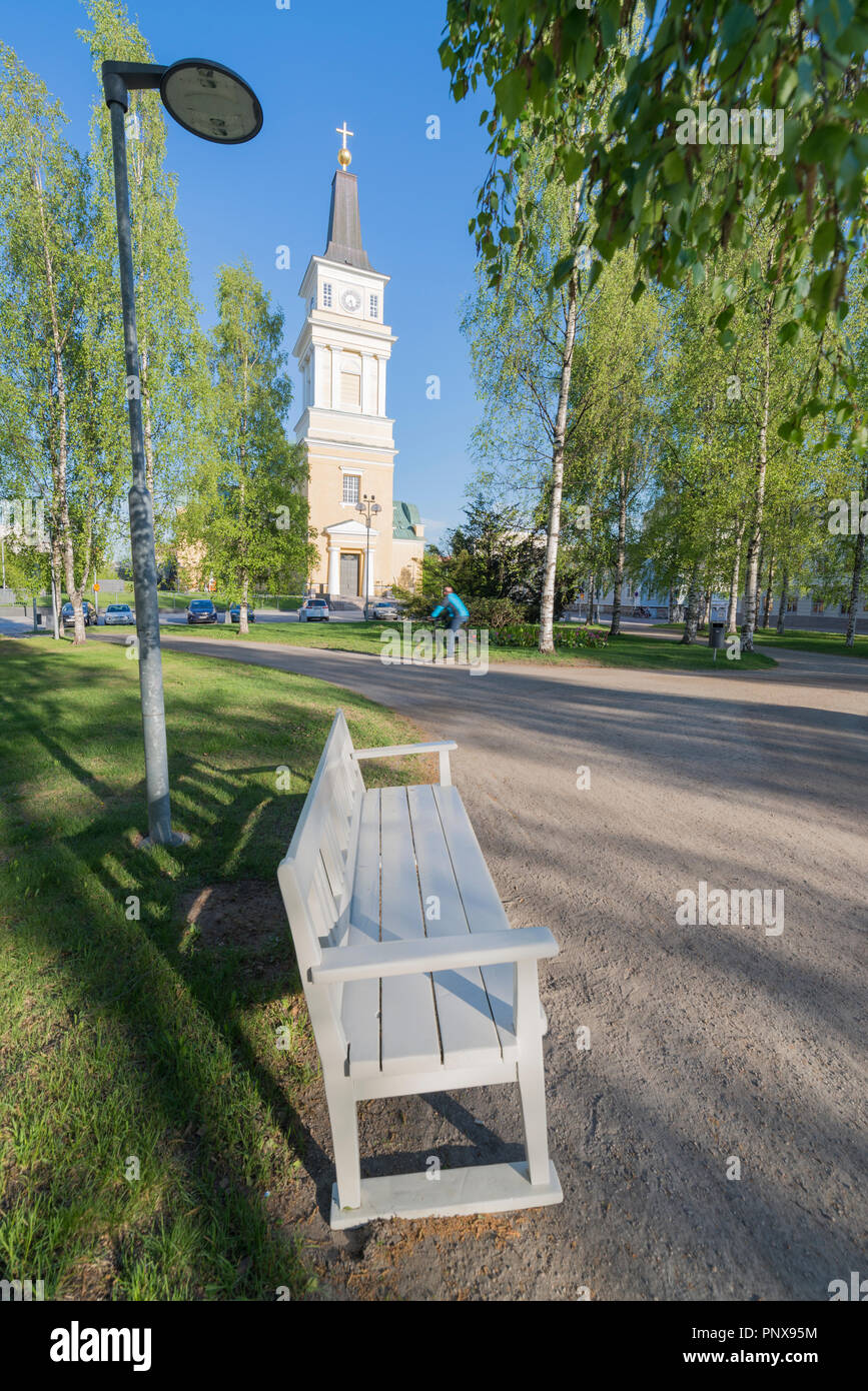 Oulu Cathedral, Finland - Stock Image