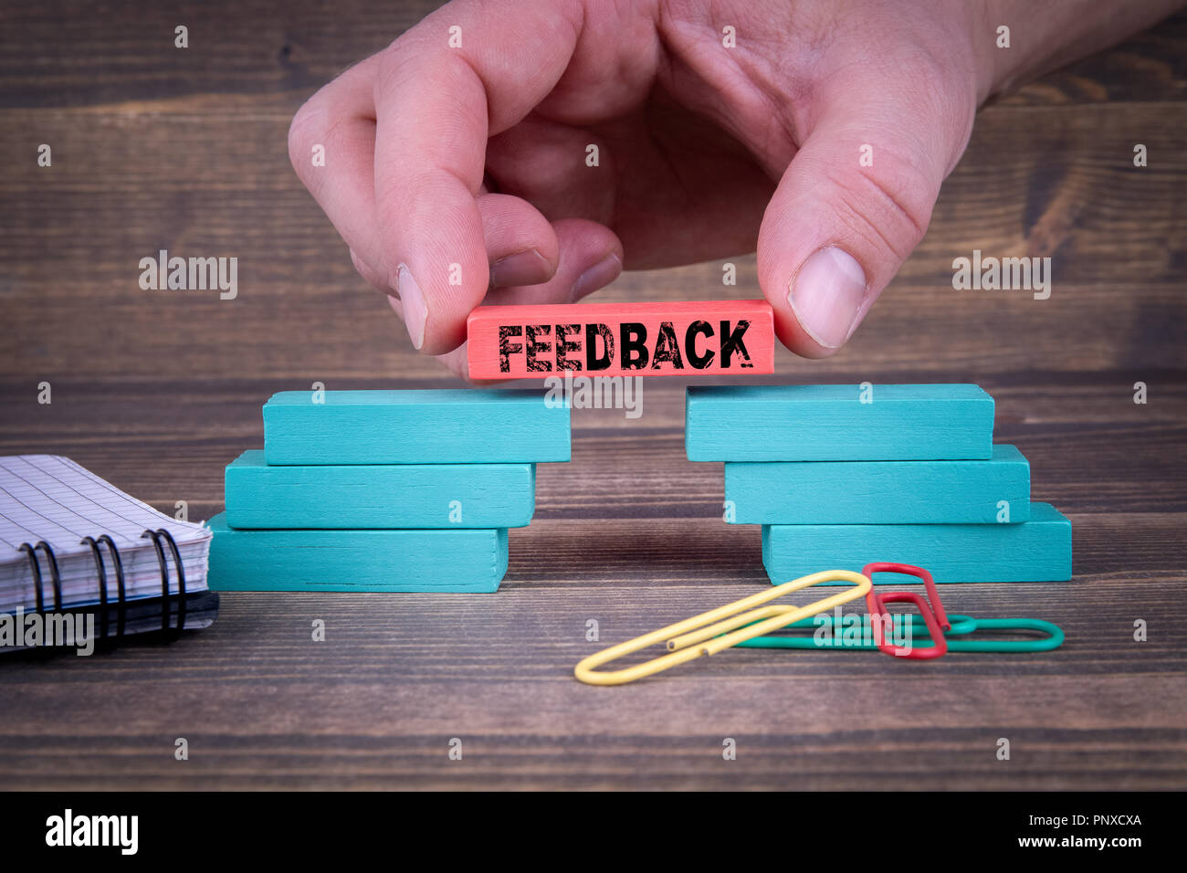 Feedback Business, social media and marketing  Concept - Stock Image