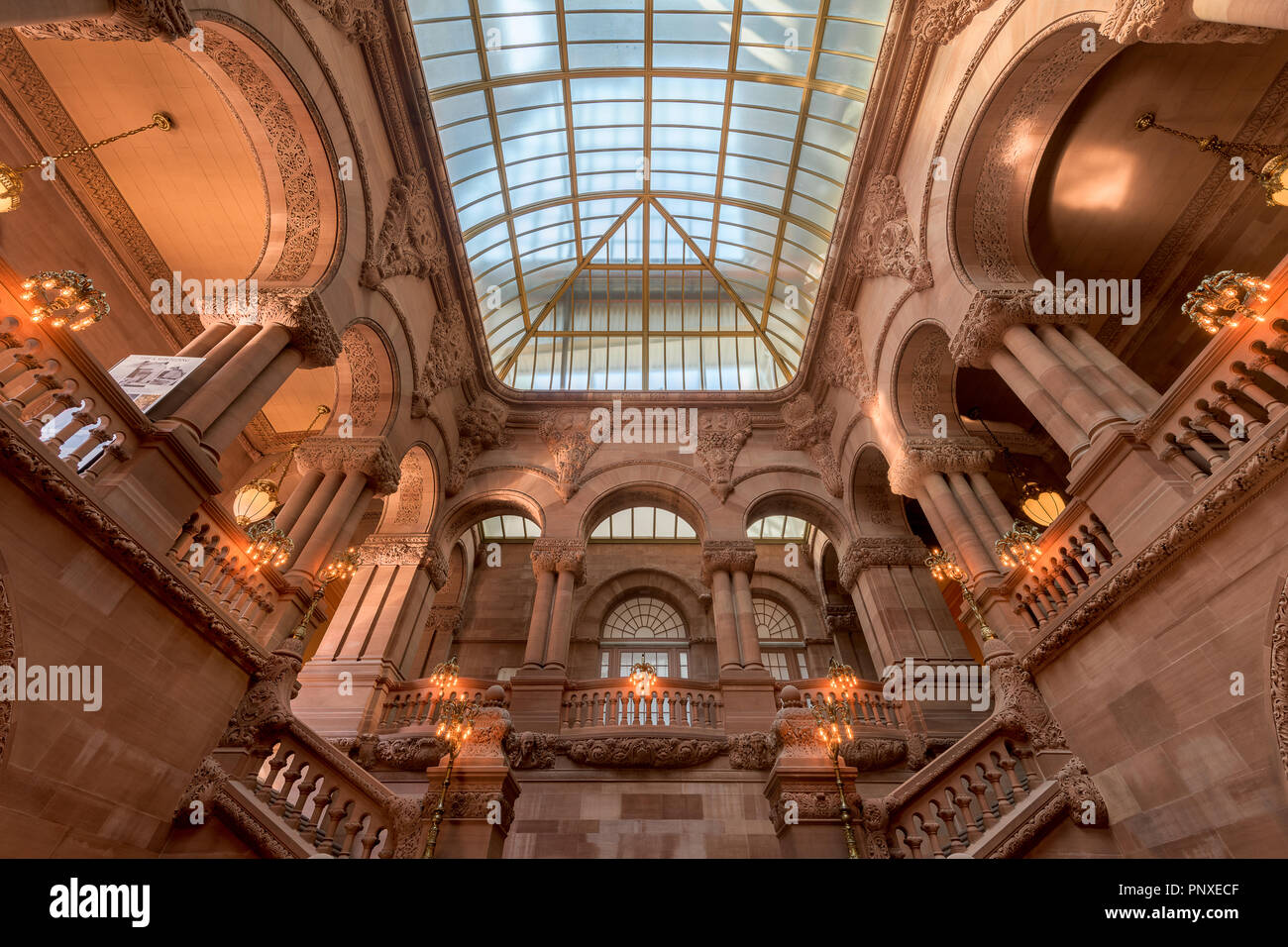 The Great Western Staircase Or Million Dollar Staircase And