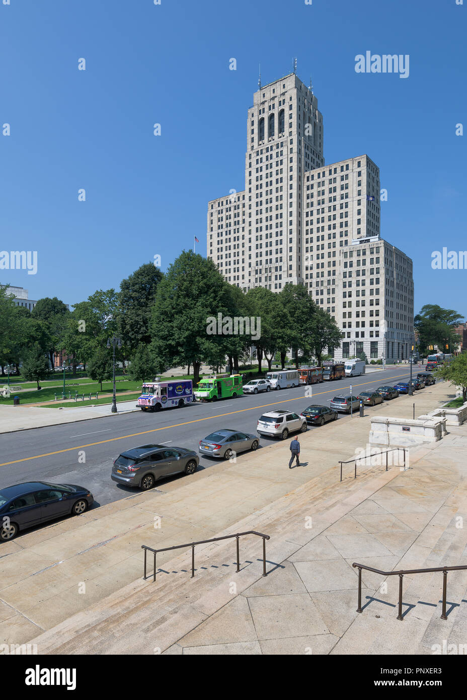 Downtown Albany High Resolution Stock Photography And Images Alamy