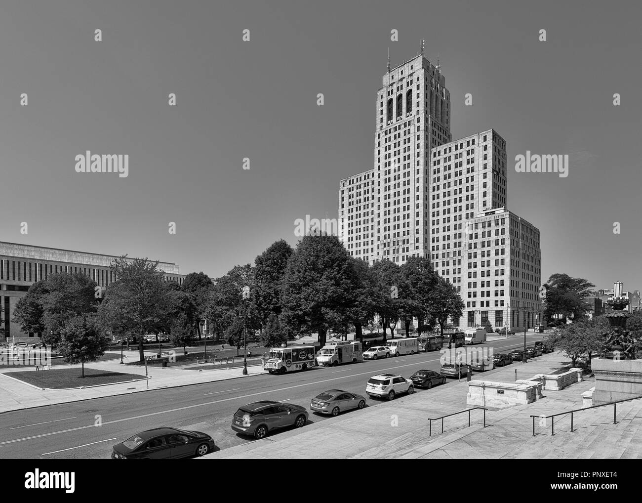 Historic Art Deco Alfred E Smith State Office Building At 80 S Swan Street In Downtown Albany New York Stock Photo Alamy