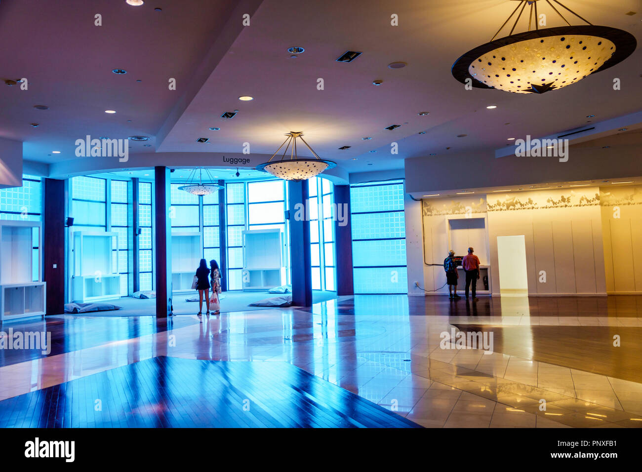 West Palm Beach Florida City Place CityPlace Culture Lab Experiential Creative Space - Stock Image