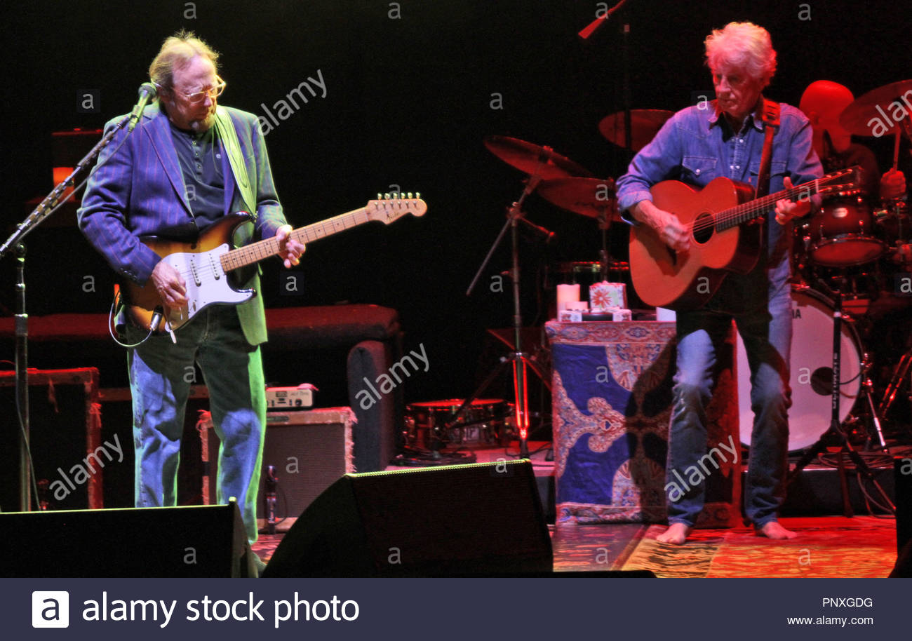 Crosby, Stills and Nash perform to a sold out audience at the Bridgewater Hall, Manchester on monday 21 september 2015 - Stock Image