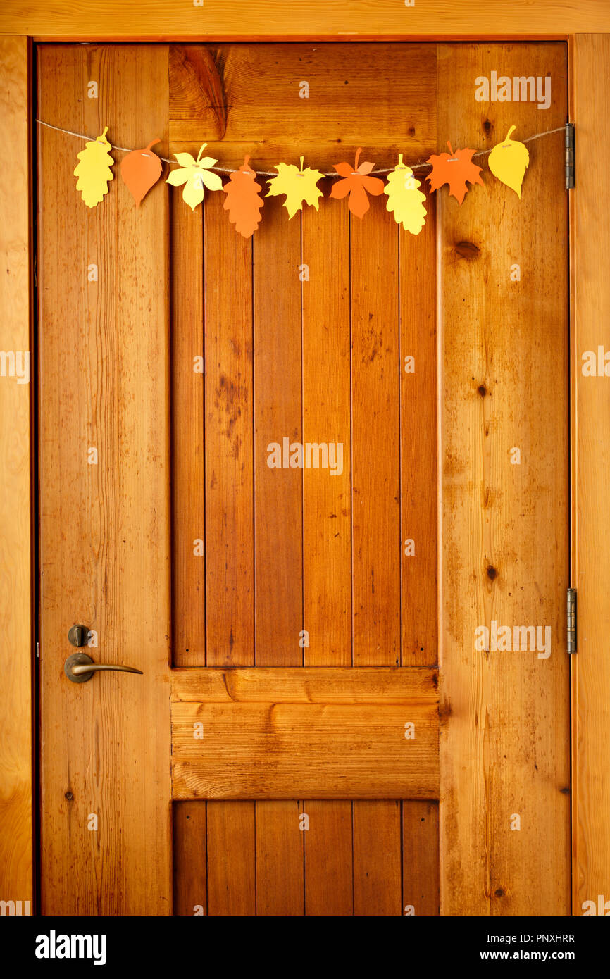 Simple Rustic Country Style Thanksgiving Home Decorations