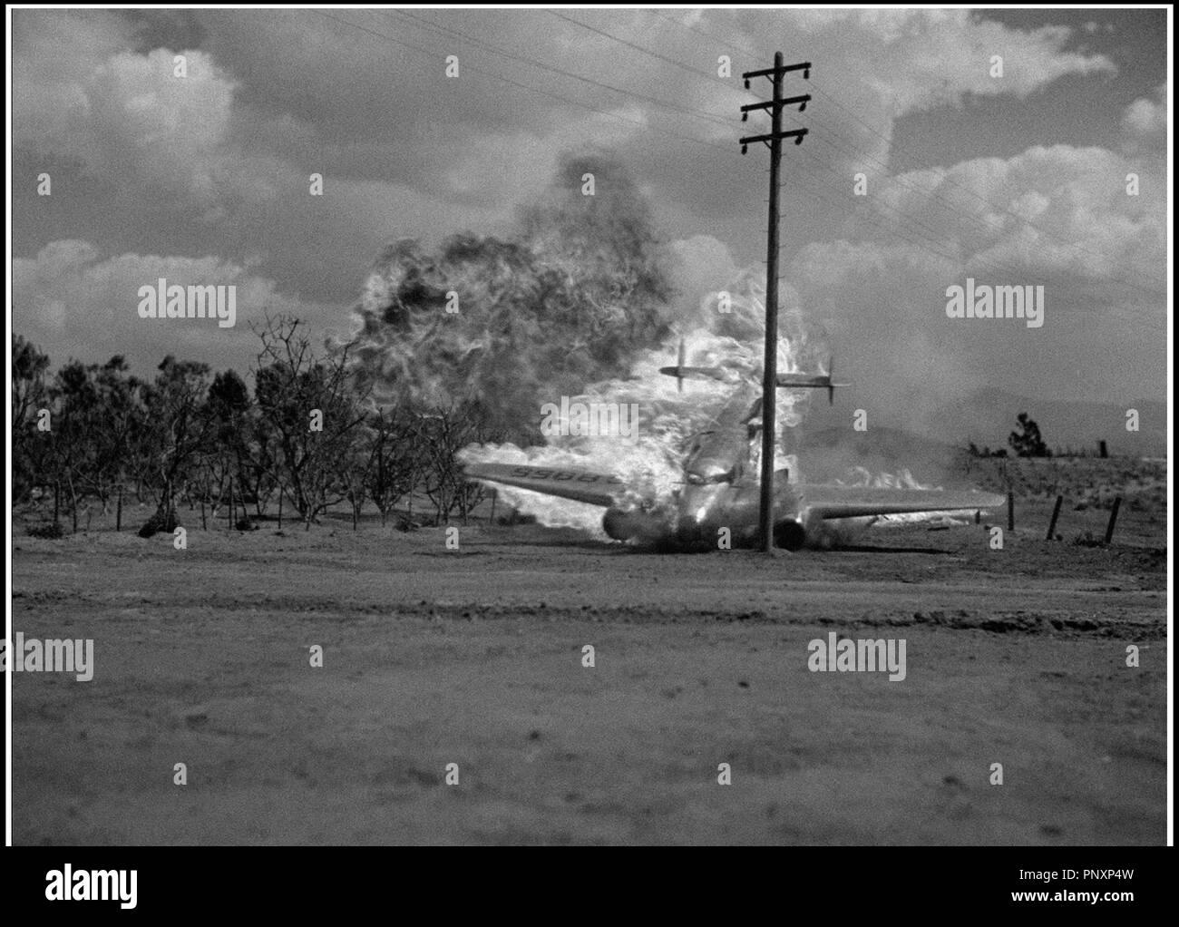 Prod DB © Republic Pictures / DR SABOTAGE de Harold Young 1939 USA crash aerien - Stock Image
