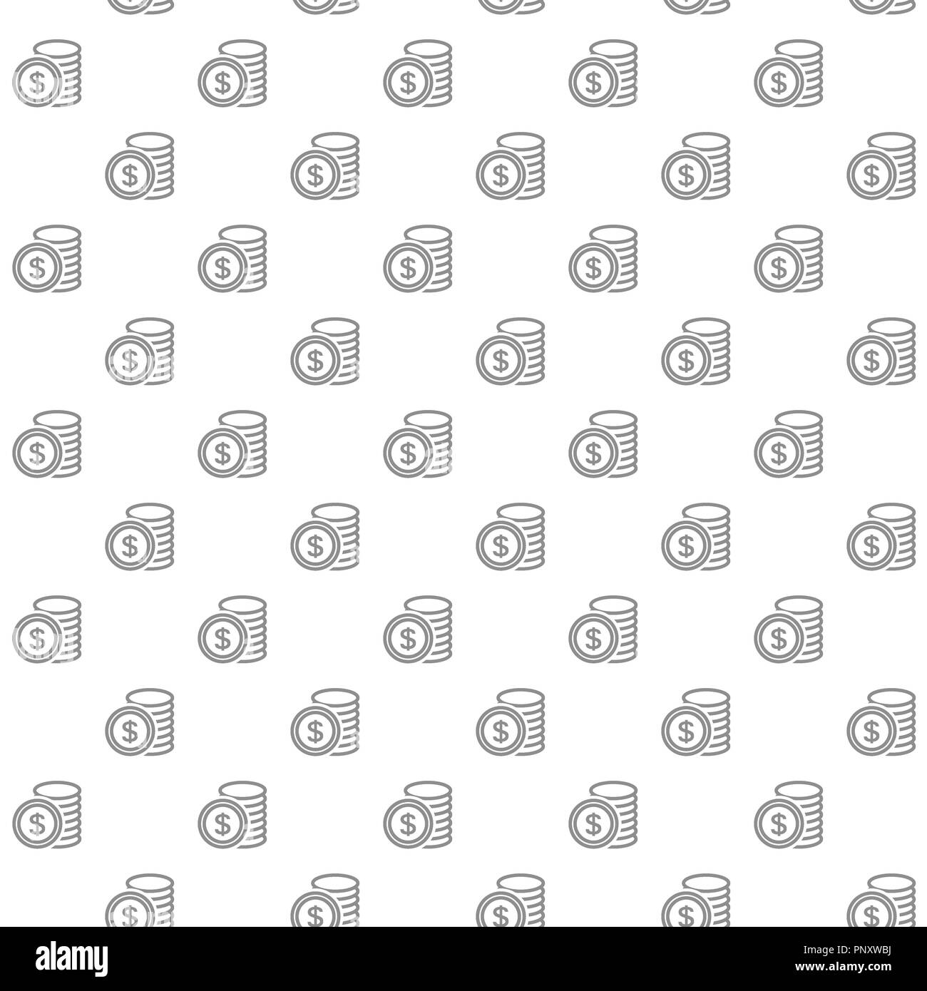 Currency Symbols Seamless Pattern Finance Stock Photos Currency