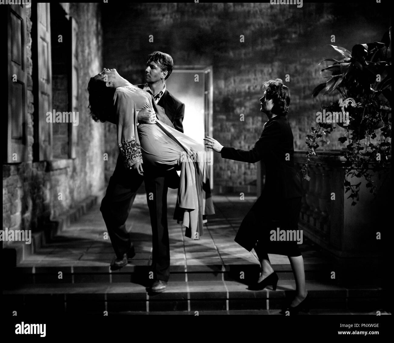 Prod DB © Diana Productios Company / DR LE SECRET DERRIERE LA PORTE (SECRET  BEYOND THE DOOR) de Fritz Lang 1948 USA avec Joan Bennett, Michael Redgrave  et ...