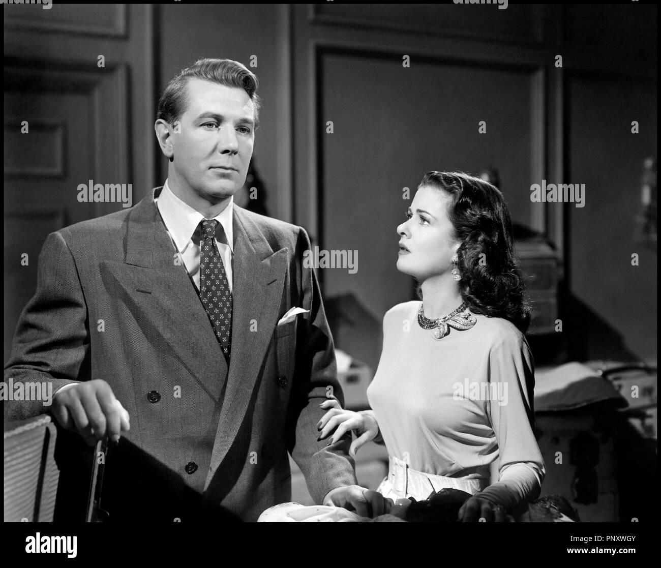 Prod DB © Diana Productios Company / DR LE SECRET DERRIERE LA PORTE (SECRET  BEYOND THE DOOR) de Fritz Lang 1948 USA avec Michael Redgrave et Joan  Bennett ...