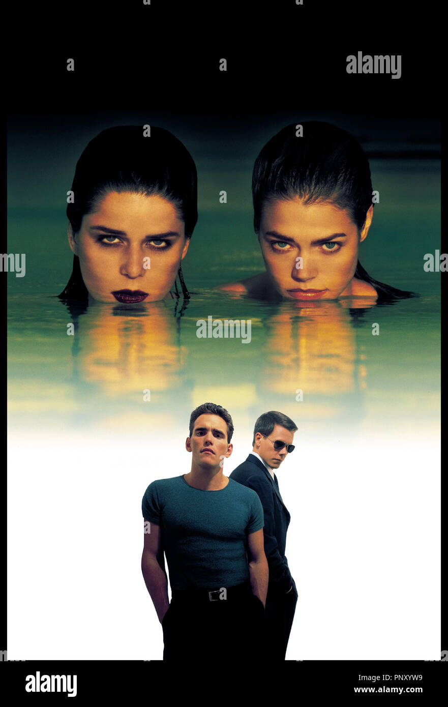 Prod DB © DR SEXCRIMES (WILD THINGS)  de JOHN Mc NAUGHTON 1998 USA NEVE CAMPBELL, DENISE RICHARDS, MATT DILLON et KEVIN BACON - Stock Image