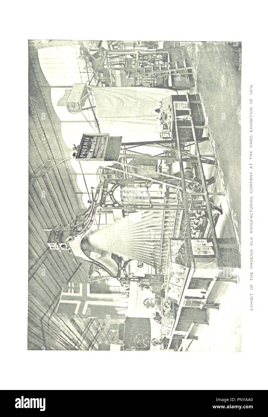 Image  from page 165 of 'Paterson, New Jersey. Its advantages for manufacturing and residence its industries, prominent men, banks, schools, churches, etc' . - Stock Image