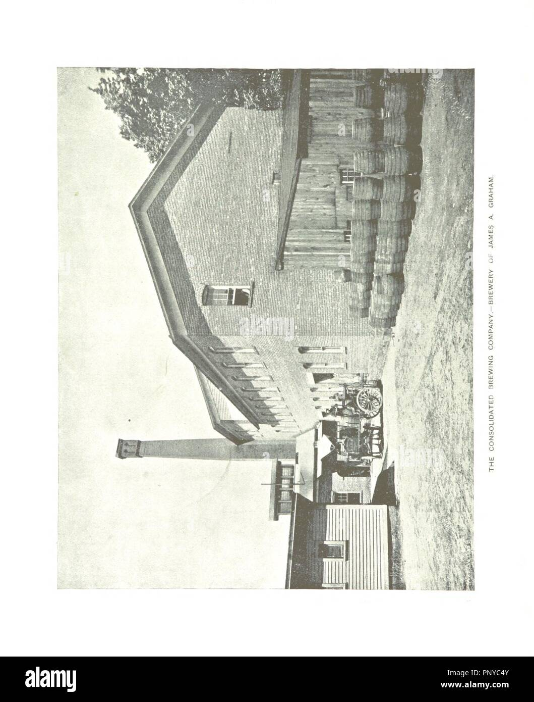 Image  from page 188 of 'Paterson, New Jersey. Its advantages for manufacturing and residence its industries, prominent men, banks, schools, churches, etc' . - Stock Image