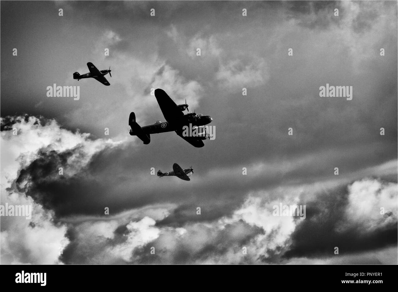 RAF Air Display - 100th Anniversary Stock Photo