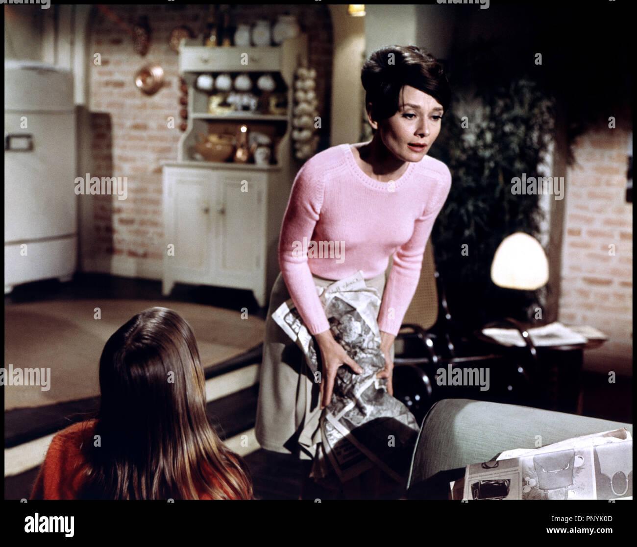 Prod DB ©ÊWarner / DR SEULE DANS LA NUIT (WAIT UNTIL DARK) de Terence Young 1967 USA d'aprs la pice de Frederick Knott  avec Audrey Hepburn - Stock Image