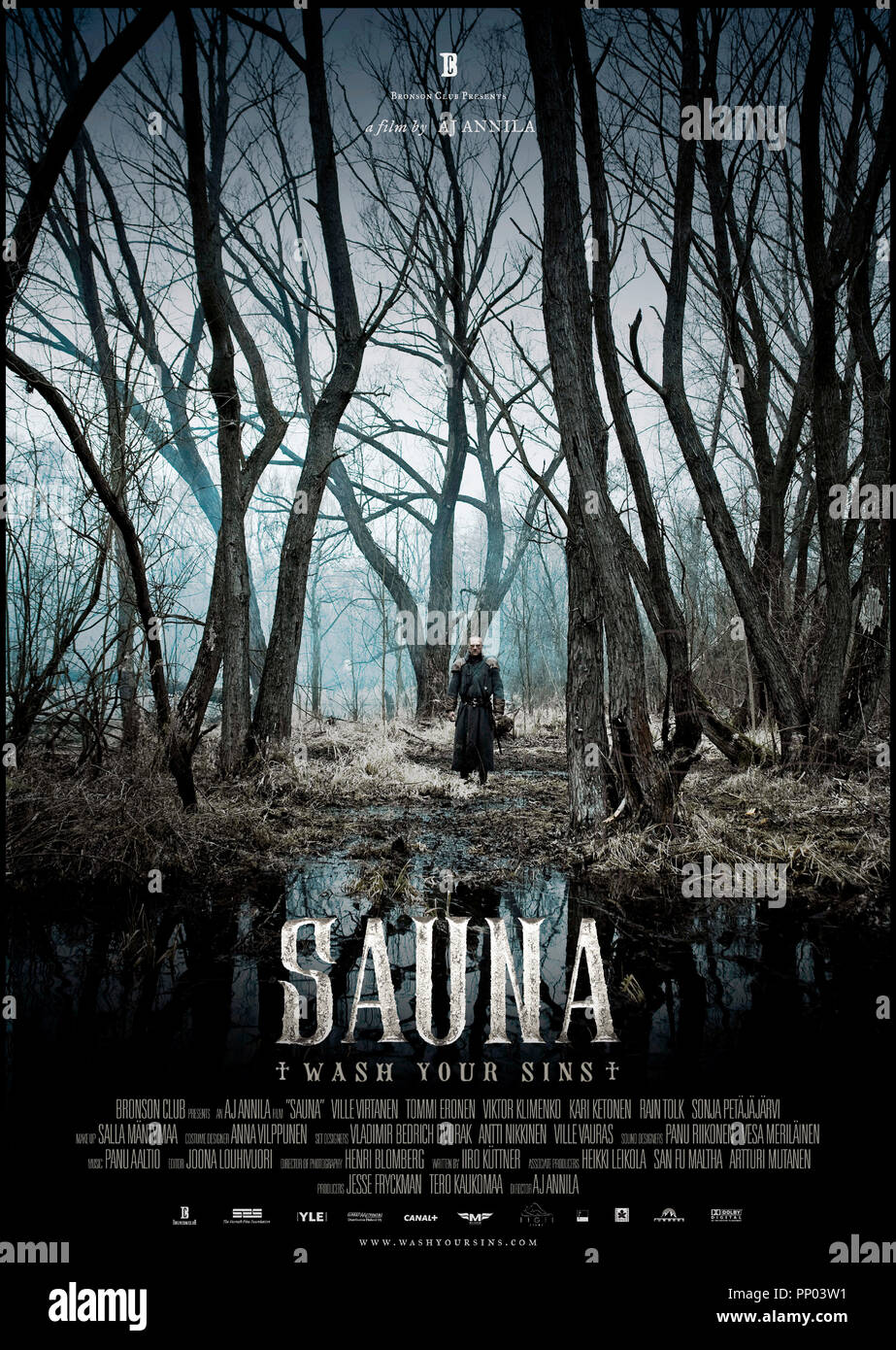 Prod DB © Bronson Club - Etic Pictures - Yleisradio / DR SAUNA de Antti-Jussi Annila 2008 FINL. affiche anglaise - Stock Image