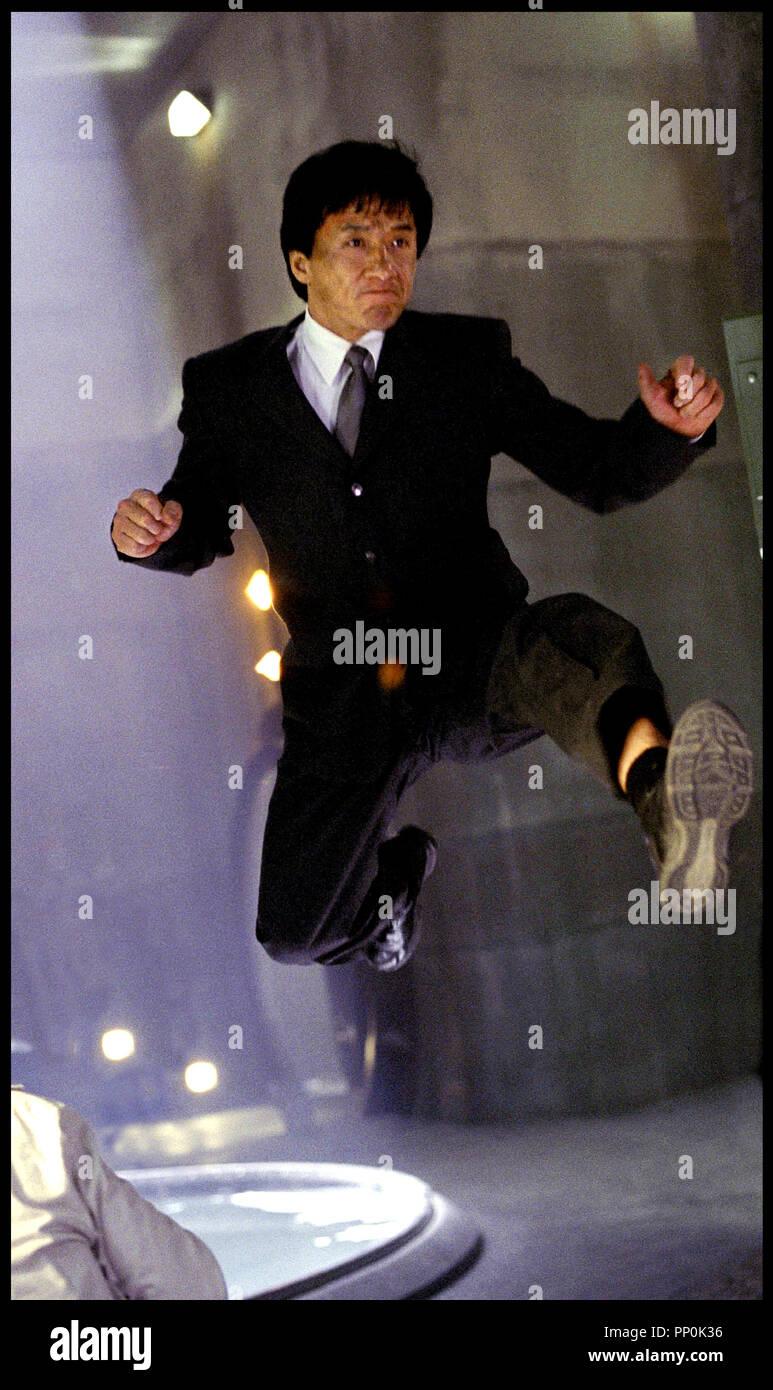 Prod DB © DreamWorks / DR LE SMOKING (THE TUXEDO) de Kevin Donovan 2002 USA avec Jackie Chan saut, arts martiaux, - Stock Image