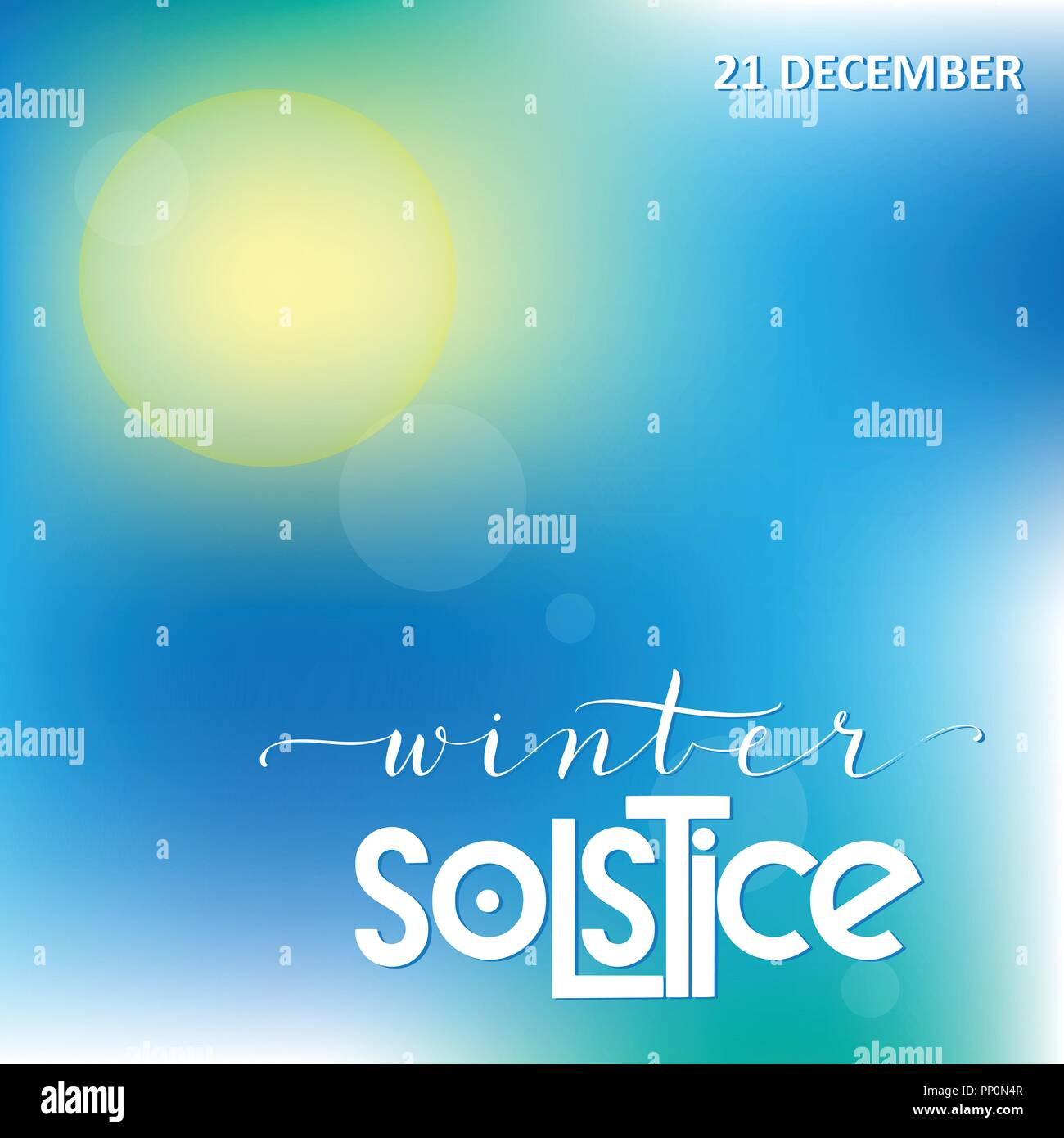 Winter solstice lettering elements for invitations posters winter solstice lettering elements for invitations posters greeting cards m4hsunfo