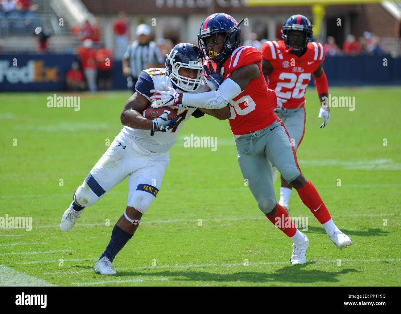 new arrival e57c8 98816 Oxford, MS, USA. 22nd Sep, 2018. Kent State RB, Justin ...