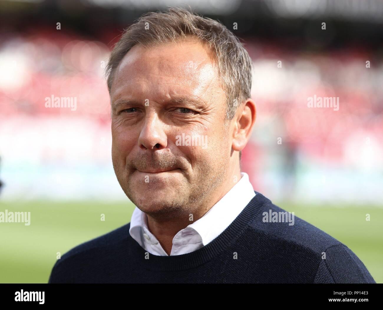 firo: 22.09.2018 Fuvuball, Football: 1.Bundesliga 1.FC Nvºrnberg - Hanover 96, coach Andre Breitenreiter, Hanover, 96, Portrait | usage worldwide Stock Photo