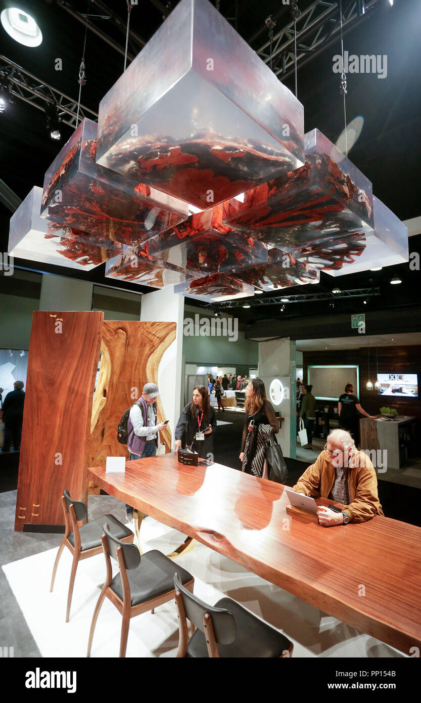 Vancouver Canada 22nd Sep 2018 People Visit The 14th Annual Vancouver Interior Design Show In Vancouver Canada Sept 22 2018 The Vancouver Interior Design Show Is Western North America S Annual Premiere Residential