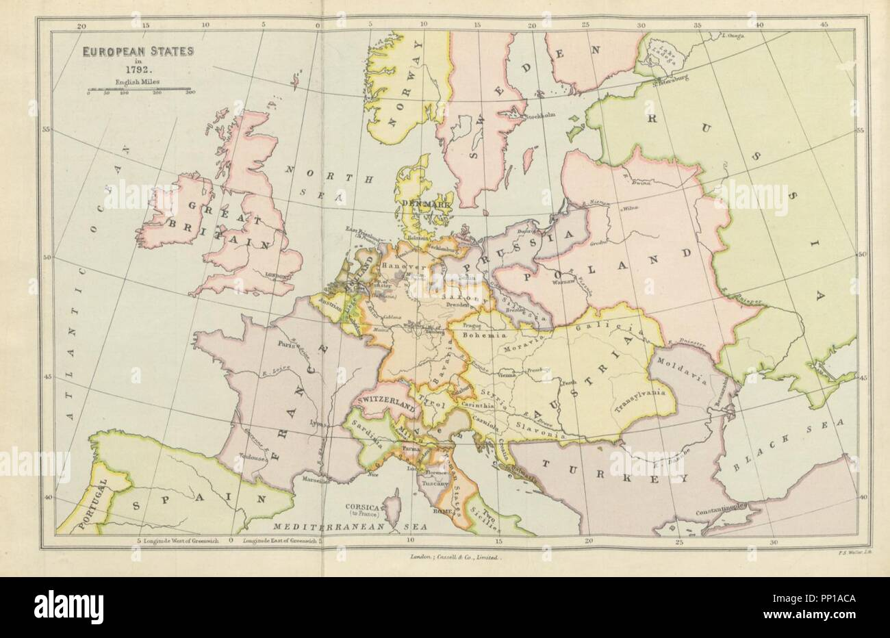 Image From Page 518 Of A History Of Modern Europe With Maps