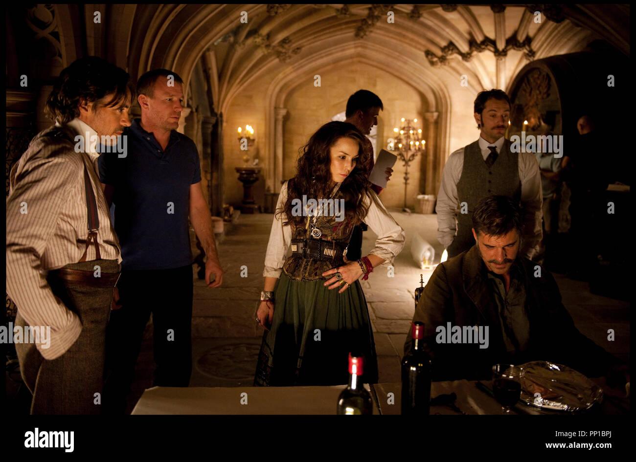 Sherlock Holmes A Game Of Shadows Stock Photos & Sherlock Holmes A ...