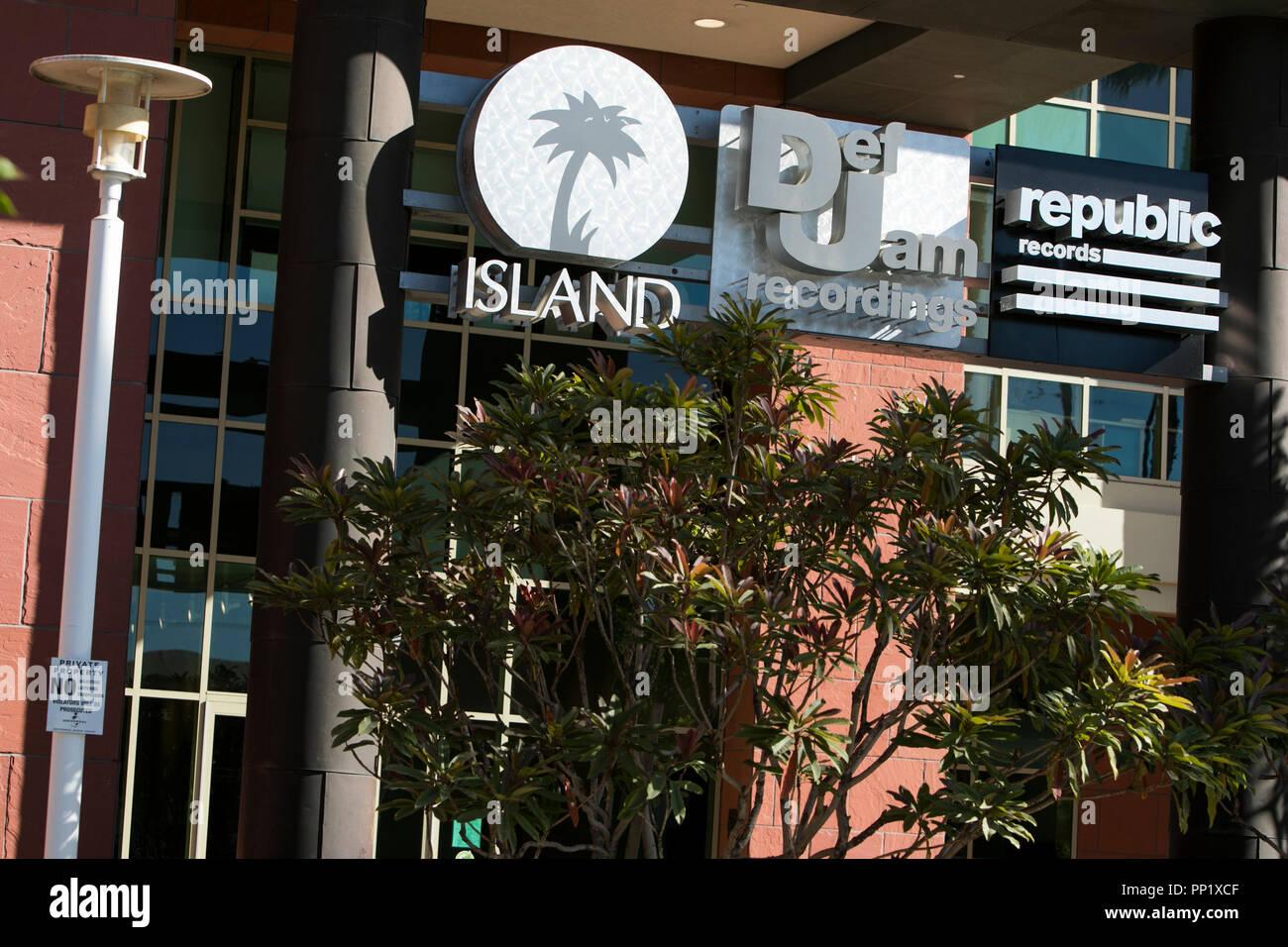 Universal Music Group Headquarters Stock Photos & Universal