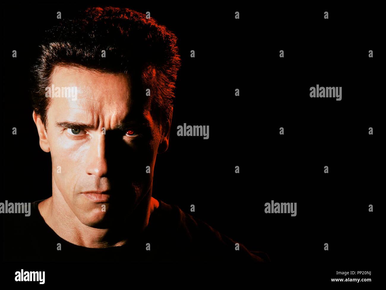 Prod DB © Carolco / DR TERMINATOR 2 (TERMINATOR 2 : JUDGMENT DAY) de James Cameron 1991 USA avec Arnold Schwarzenegger sequelle, - Stock Image