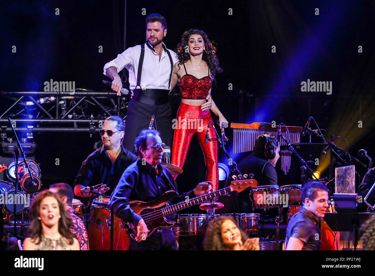 ON YOUR FEET the touring Broadway musical performs in North