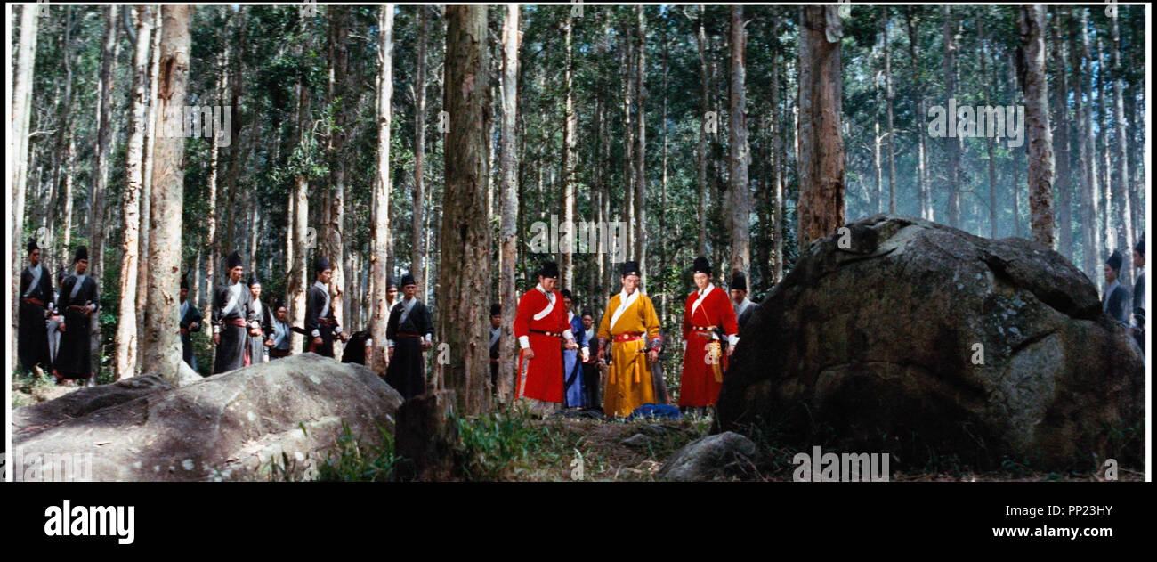 Prod DB © Lian Bang / DR A TOUCH OF ZEN (HSIA NU) de Hu King 1969 TAIW. action, arts martiaux - Stock Image