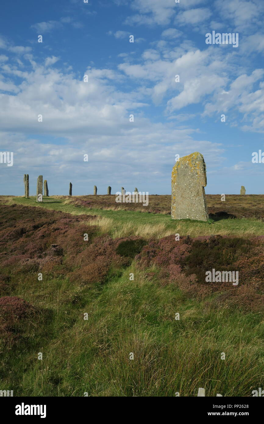 Ring of Brodgar, Mainland Orkney Stock Photo
