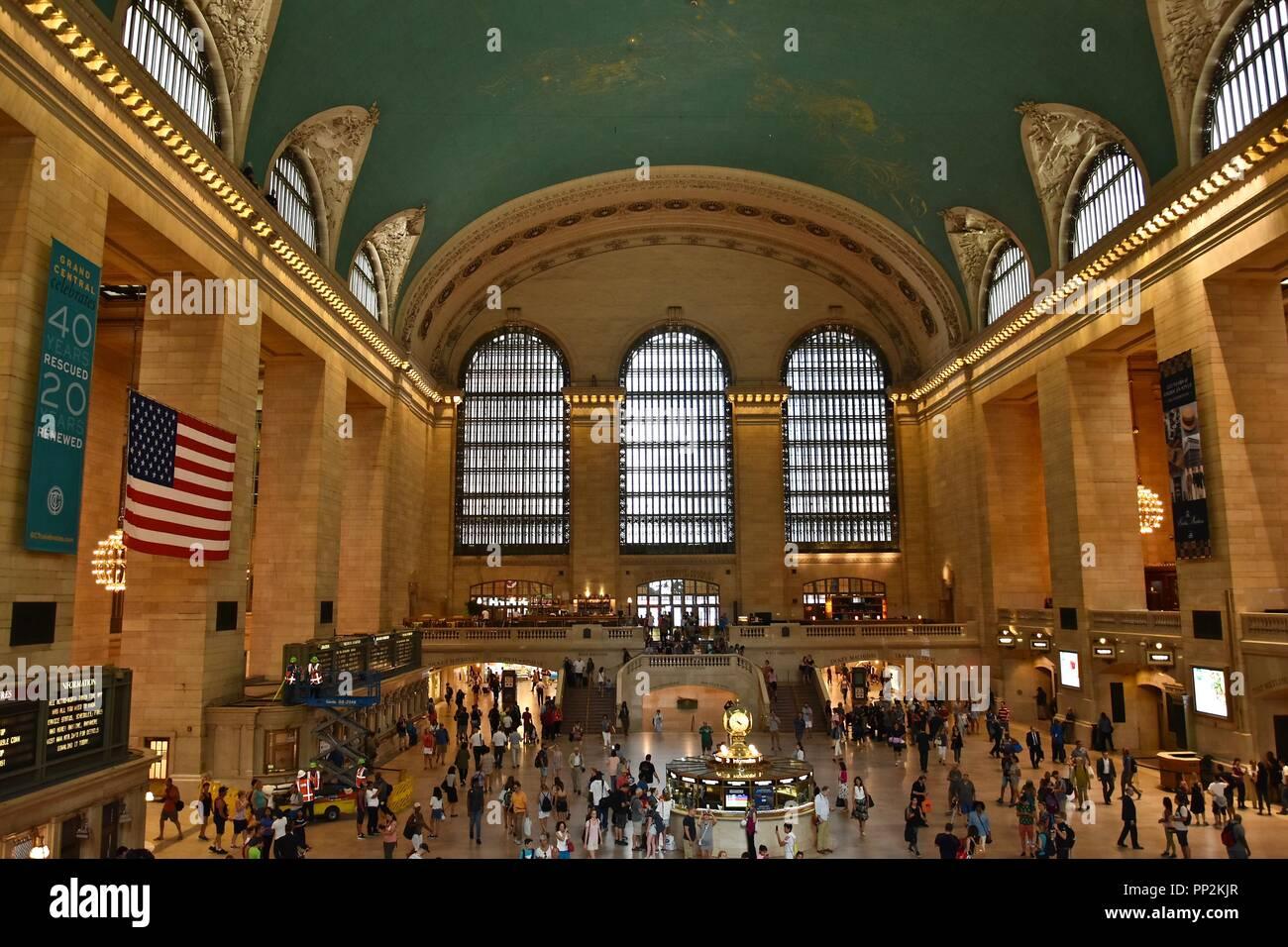 View around New York City, New York, USA Stock Photo