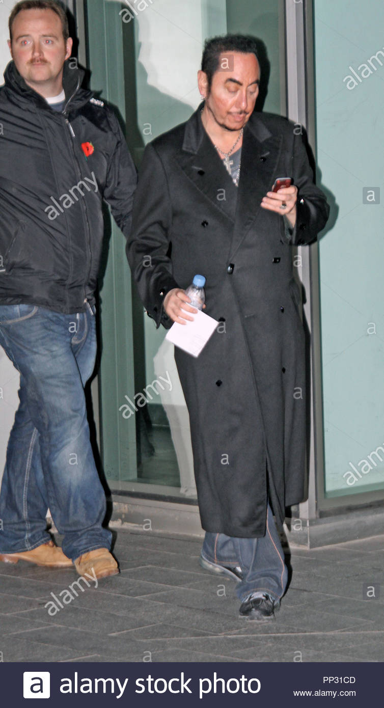 David Gest and the cast of \'Nightmare On Lime Street\' in Liverpool ...