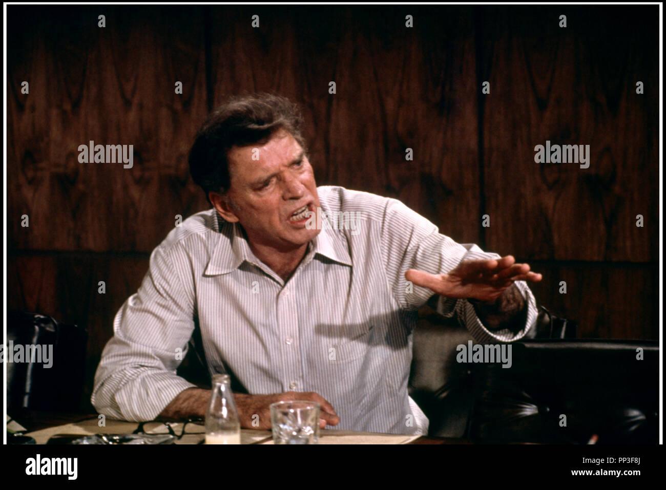 Prod DB © David L. Wolper Productions / DR VICTOIRE A ENTEBBE (VICTORY AT ENTEBBE) de Marvin J. Chomsky 1976 USA avec Burt Lancaster historique, prise d'otage, ouganda - Stock Image