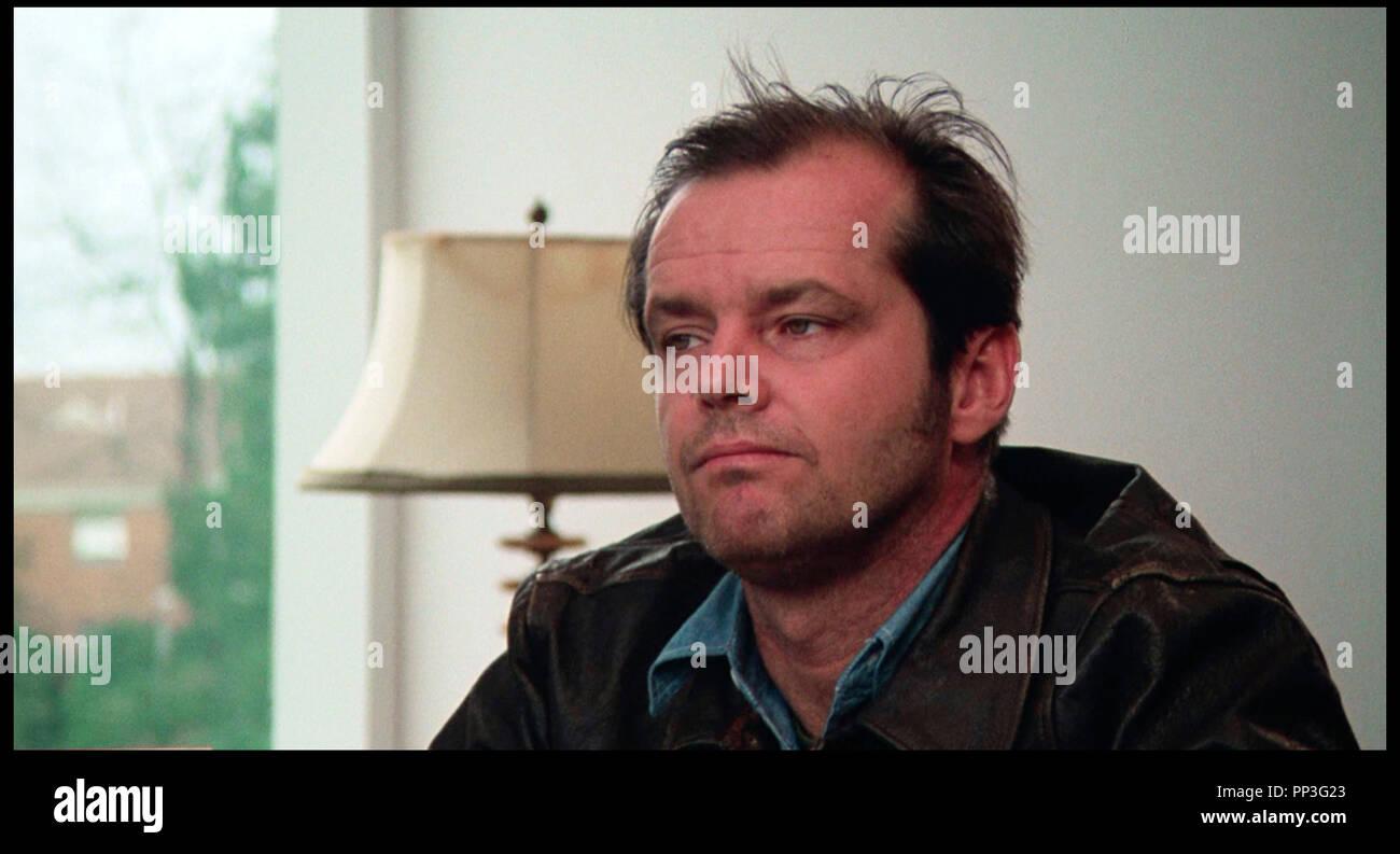 Prod DB © Fantasy Films / DR VOL AU-DESSUS D'UN NID DE COUCOU (ONE FLEW OVER THE CUCKOO'S NEST) de Milos Forman 1975 USA avec Jack Nicholson asile, hopital psychiatrique d'après le roman de Ken Kesey - Stock Image