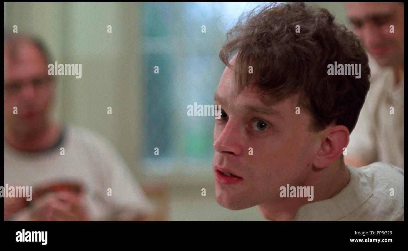 Prod DB © Fantasy Films / DR VOL AU-DESSUS D'UN NID DE COUCOU (ONE FLEW OVER THE CUCKOO'S NEST) de Milos Forman 1975 USA avec Brad Dourif asile, hopital psychiatrique d'après le roman de Ken Kesey - Stock Image