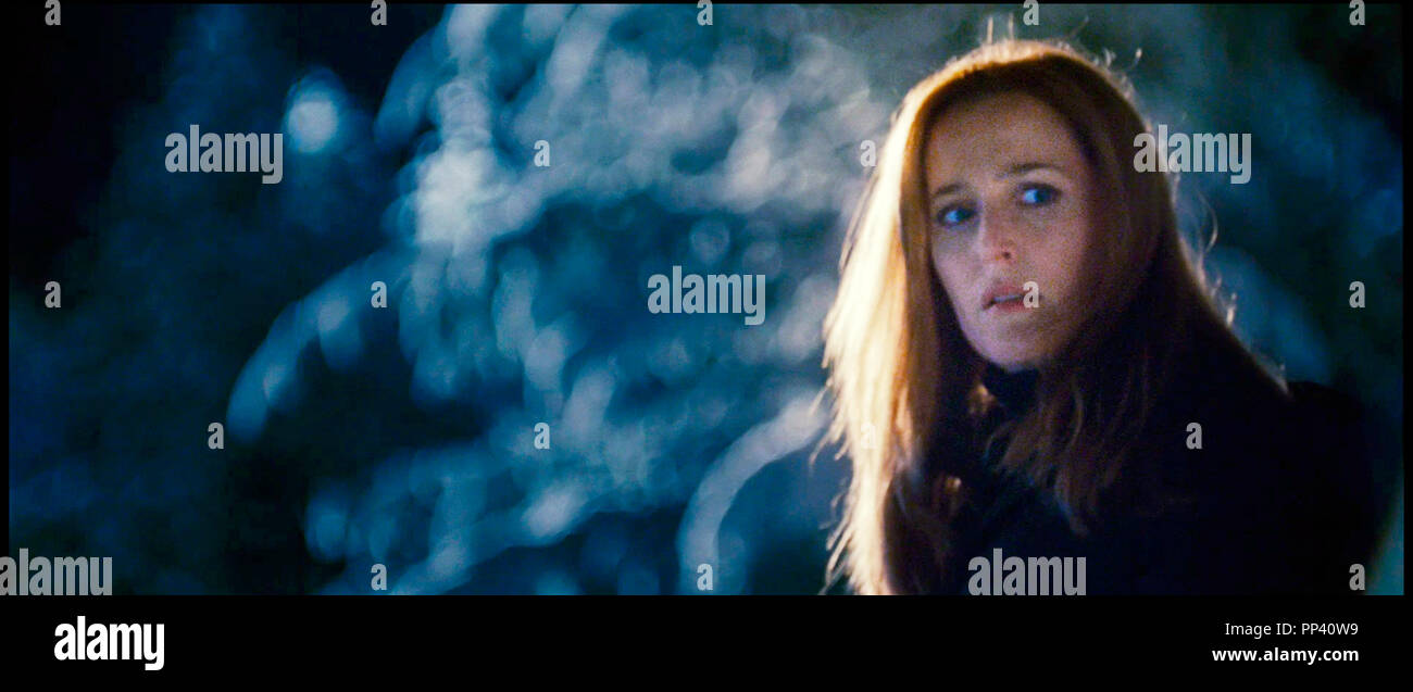 Prod DB © Crying Box Productions - Ten Thirteen Productions - Twentieth Century-Fox Film Corporation / DR X-FILES - REGENERATION (THE X-FILES: I WANT TO BELIEVE) de Chris Carter 2008 USA/CAN. avec Gillian Anderson d'apres la serie TV tele, suite, sequelle, - Stock Image