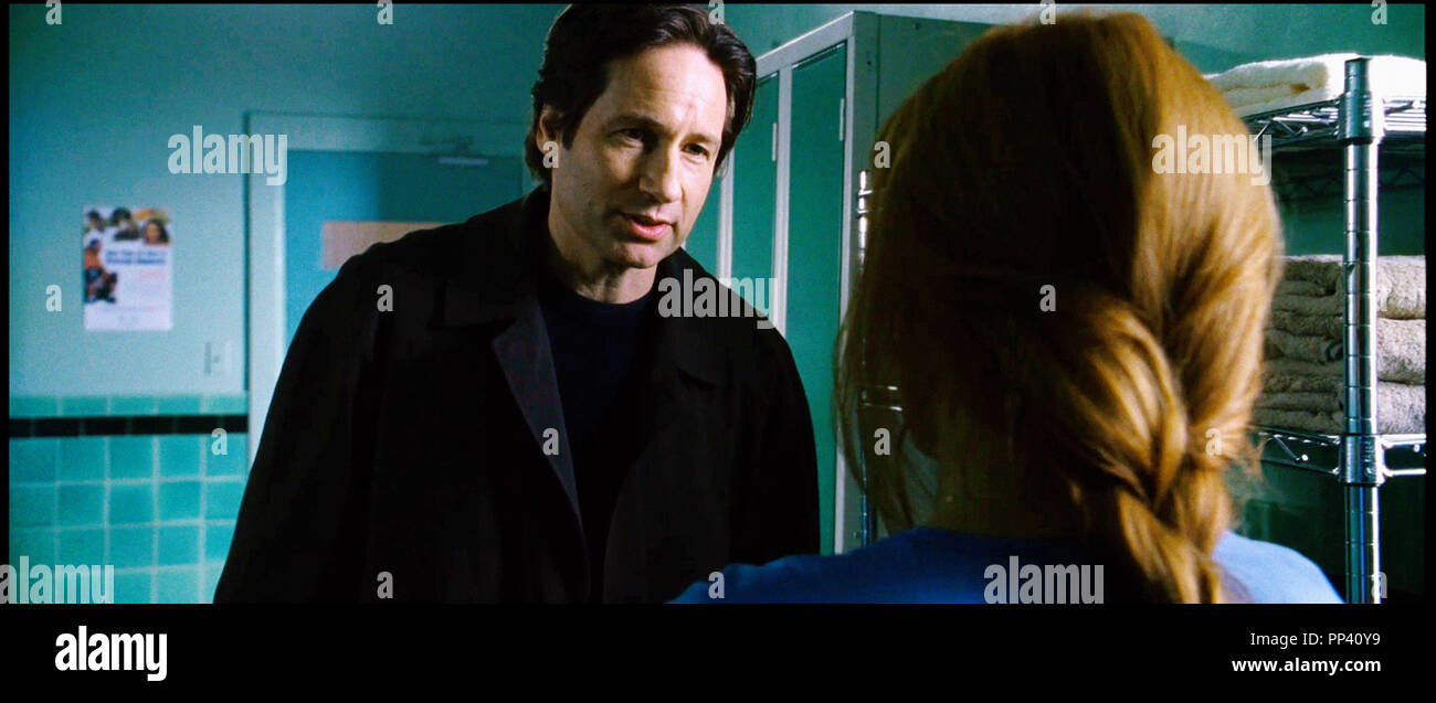 Prod DB © Crying Box Productions - Ten Thirteen Productions - Twentieth Century-Fox Film Corporation / DR X-FILES - REGENERATION (THE X-FILES: I WANT TO BELIEVE) de Chris Carter 2008 USA/CAN. avec David Duchovny et Gillian Anderson d'apres la serie TV tele, suite, sequelle, - Stock Image
