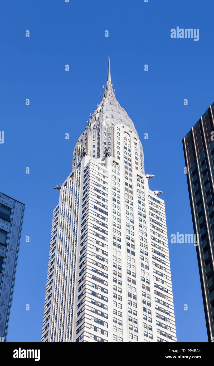 The Chrysler Building Was Worlds Tallest Structure At Time Of Its Construction It