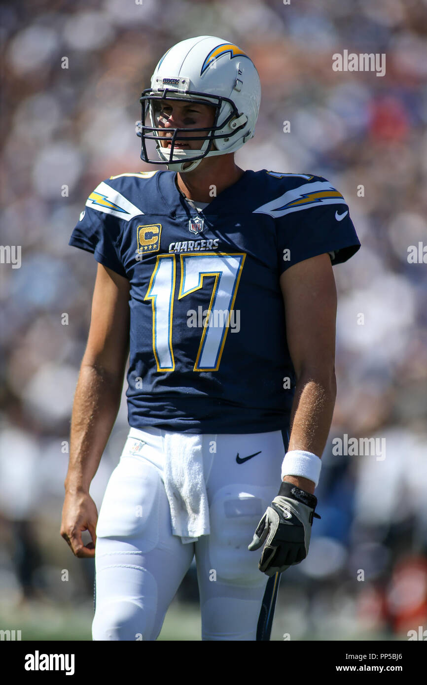 new products e61fd b8d30 Los Angeles, CA, USA. 23rd Sep, 2018. Los Angeles Chargers ...