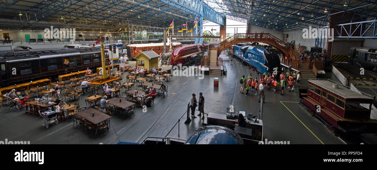 The National Railway Museum York - Stock Image
