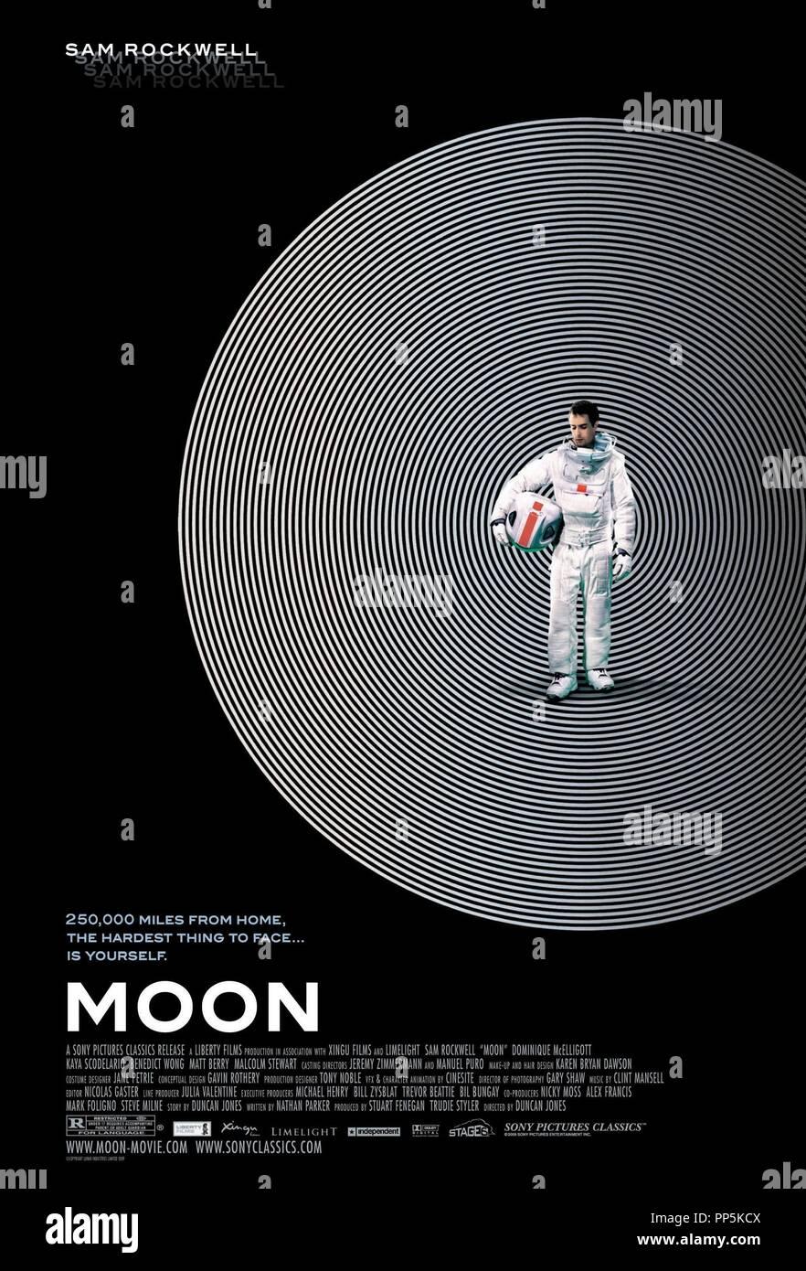 Original film title: MOON. English title: MOON. Year: 2009. Director: DUNCAN JONES. Credit: XINGU FILMS / Album - Stock Image