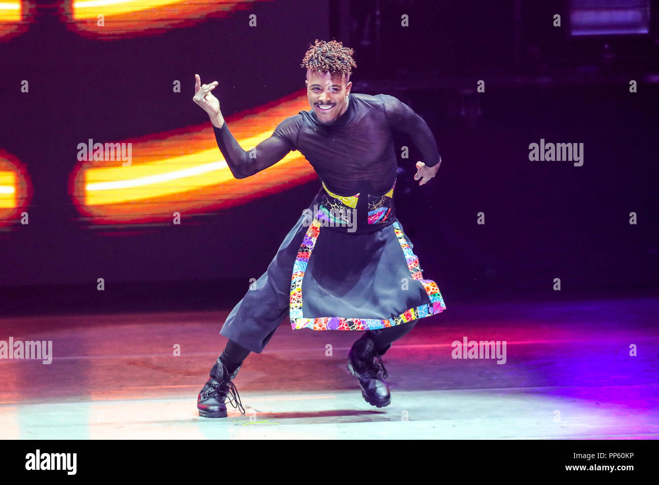 SO YOU THINK YOU CAN DANCE the Tour performs live.  So You Think You Can Dance is an American televised show dance competition show that airs on Fox in the United States and is the flagship series of the international So You Think You Can Dance television franchise. - Stock Image