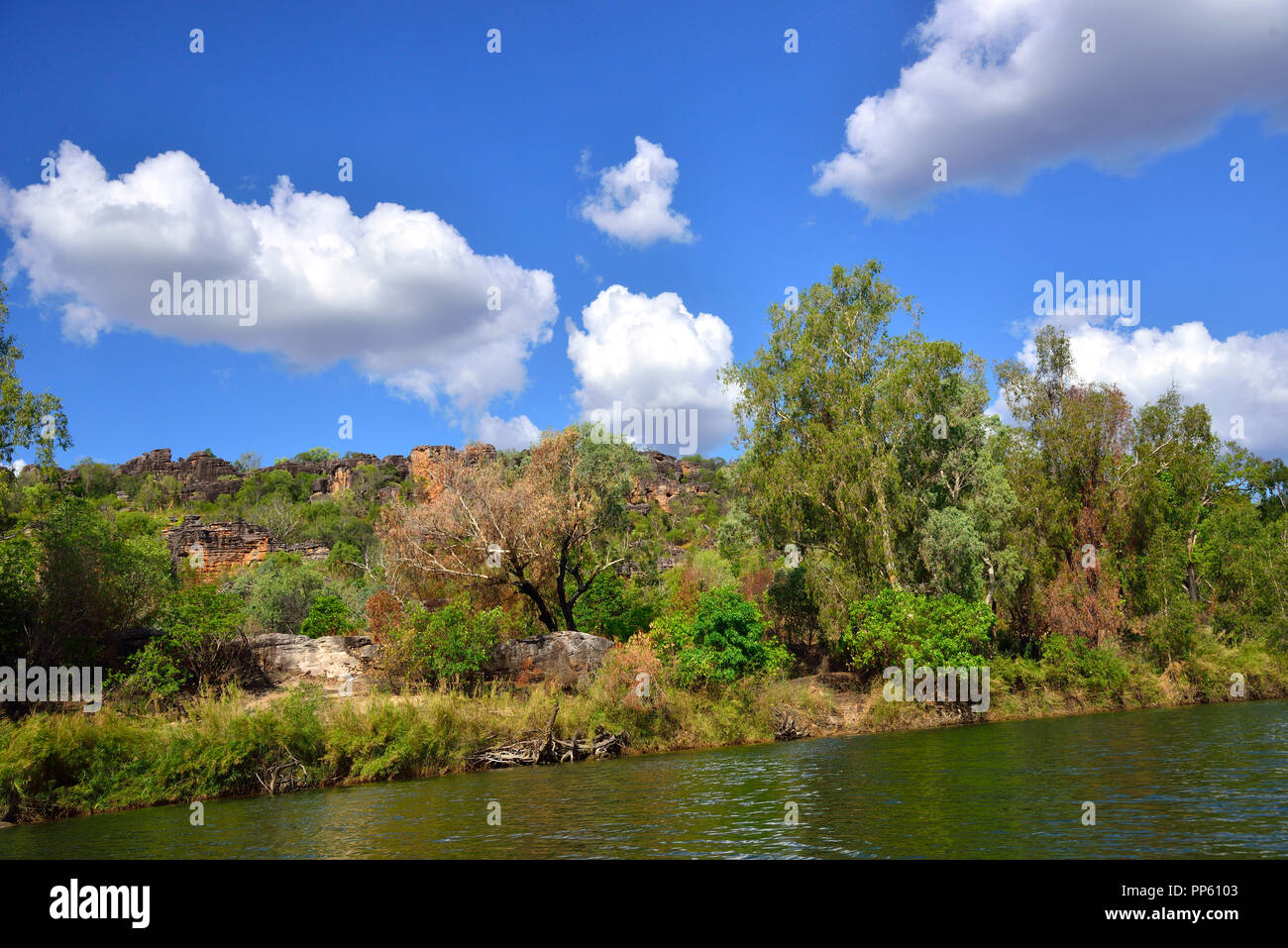 Views of Arnhem Land taken from the East Alligator River,Northern Territory, Australia Stock Photo