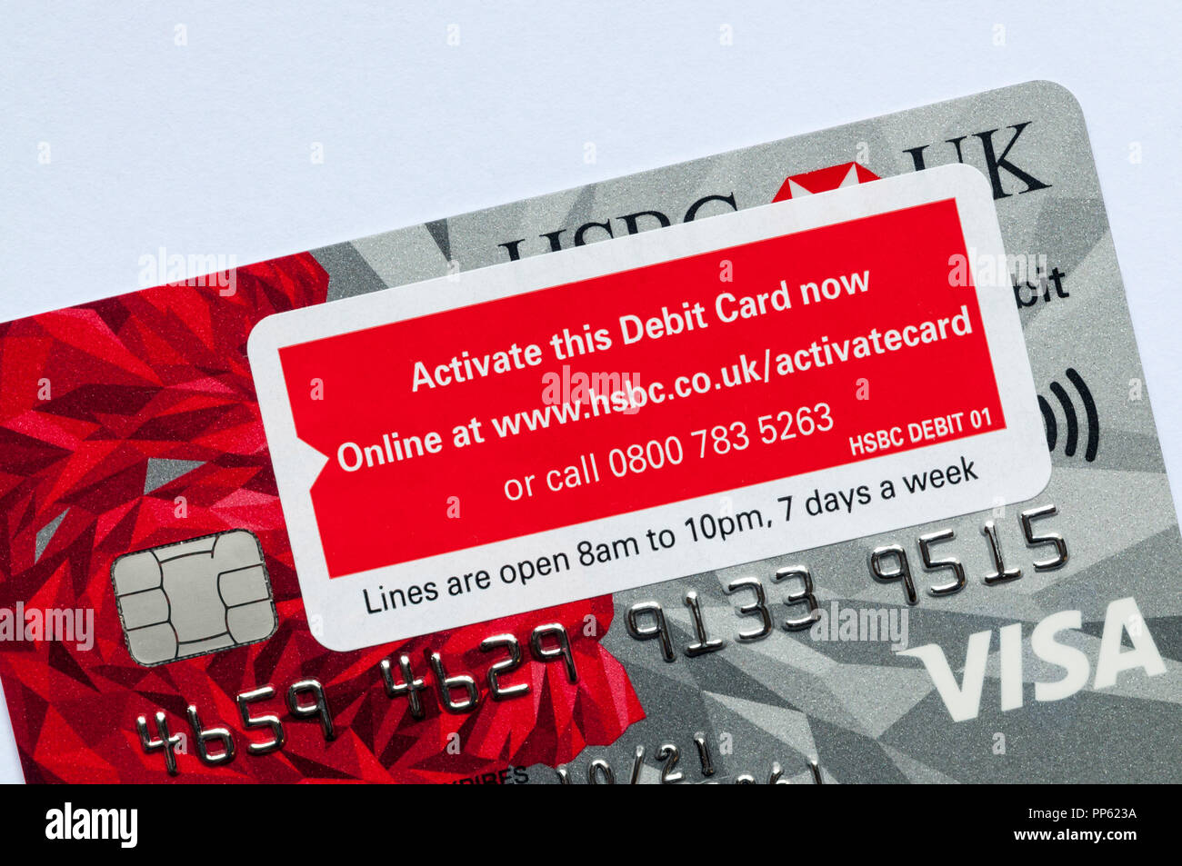 Bank Cards And Hsbc Stock Photos & Bank Cards And Hsbc Stock Images